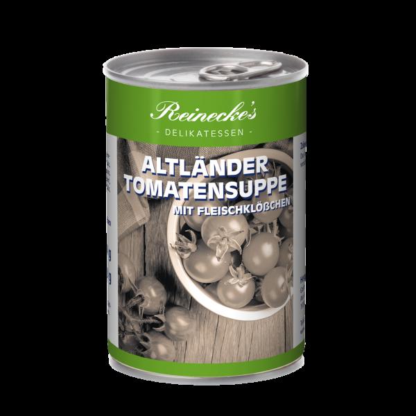 Altländer Tomatensuppe mit Fleischklößchen